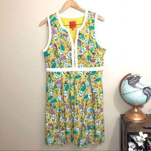 ModCloth Mustard Mermaid Dress XL